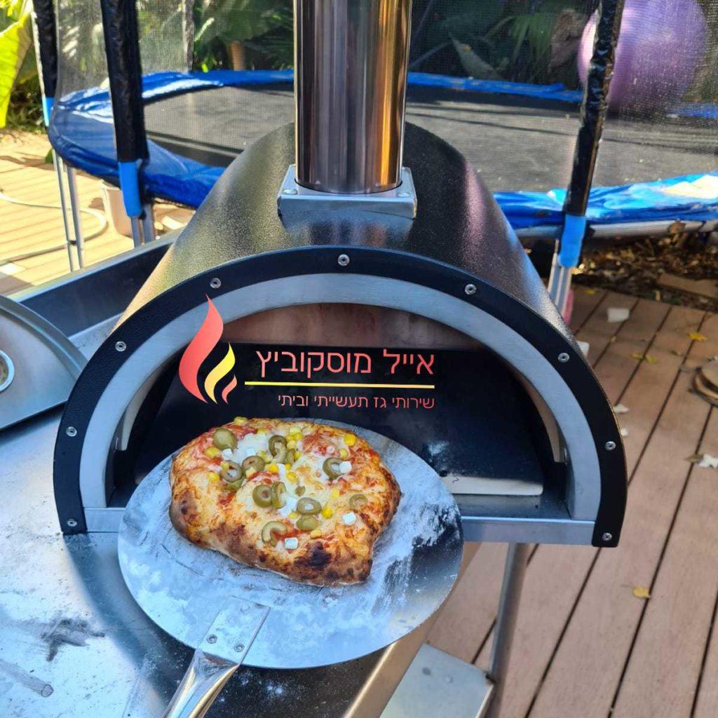 פיצה טריה יוצאת מהטאבון גז הביתי