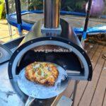 פיצה מוכנה מטאבון גז ביתי