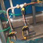 הכנת תשתית גז לרגיל במרפסת פנטהאוז