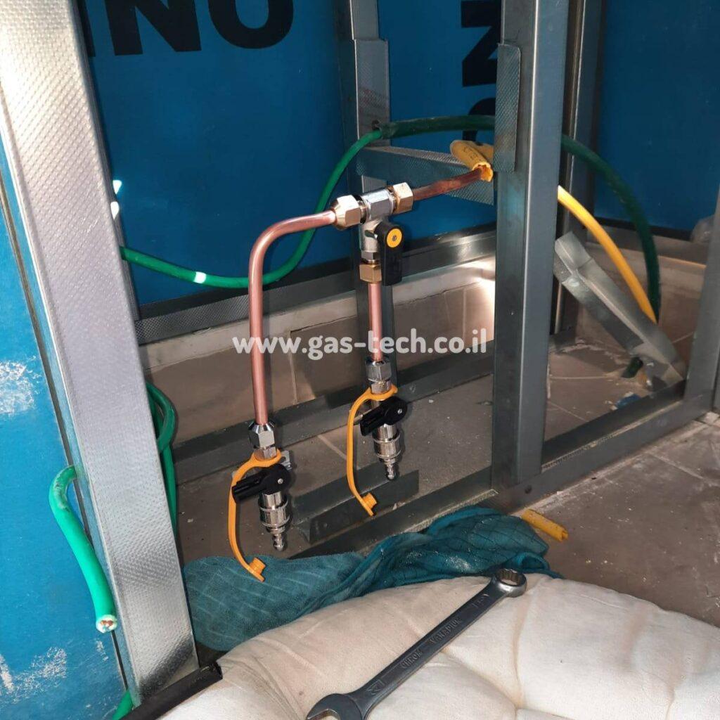 פתרונות לתשתית גז במרפסות גדולות